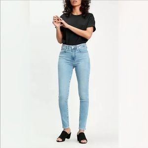 LEVIS / 721 HIGH RISE SKINNY JEANS